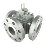 3 WAY BALL VALVE - JIS