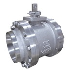 3-PC BUTT WELD END BALL VALVE - DIN
